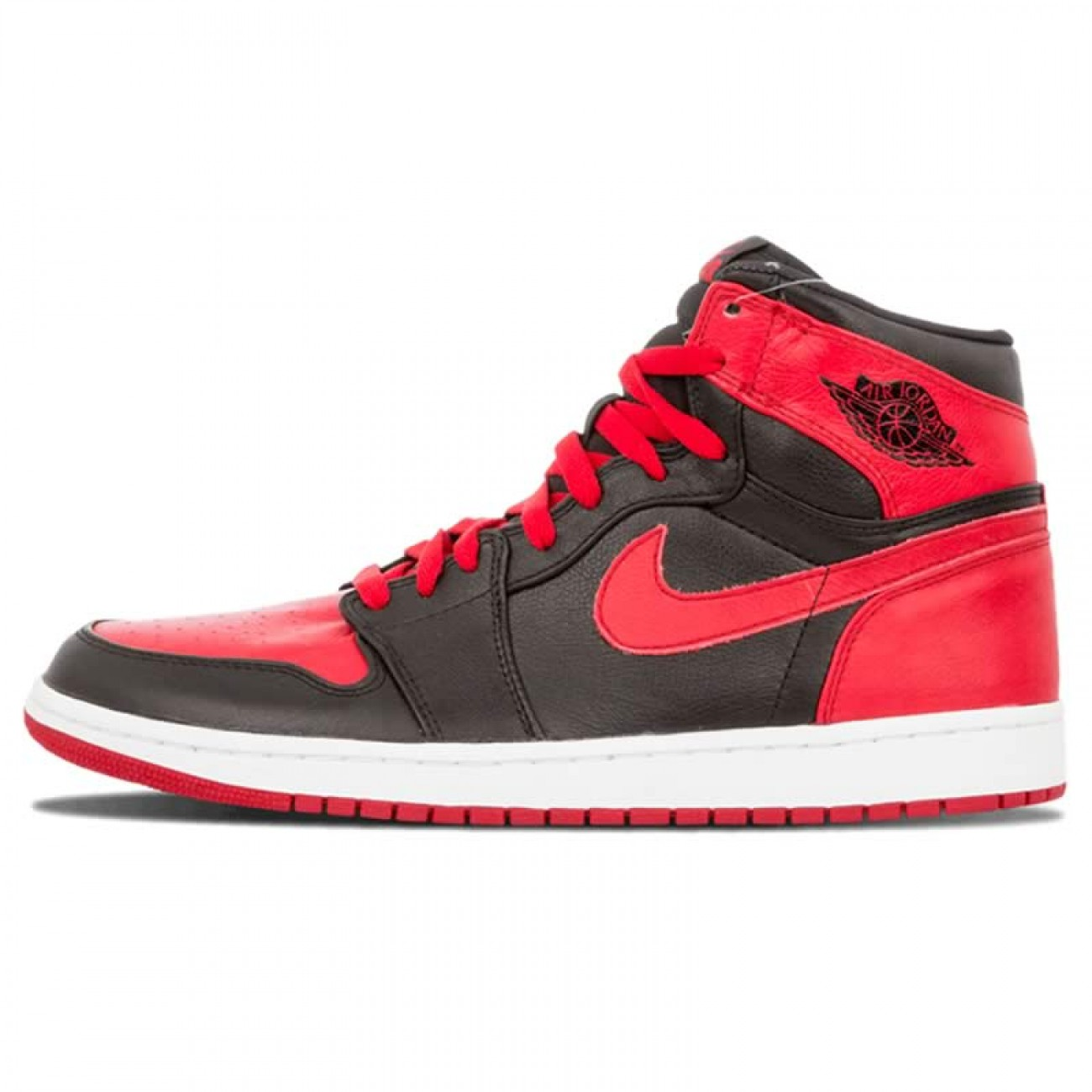 air jordan 1 black and red